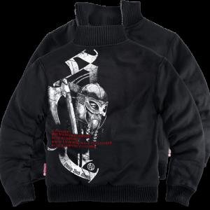 """""""Viking Storm"""" szőrmés pulóver"""