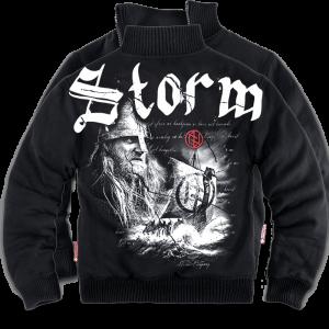 """""""Storm"""" szőrmés pulóver"""
