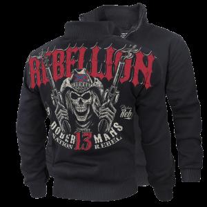 """""""Rebellion"""" szőrmés pulóver"""