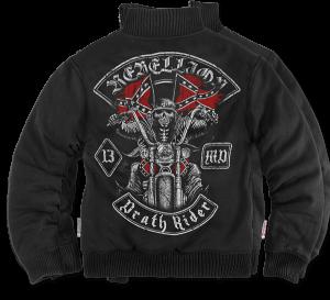 """""""Death Rider"""" szőrmés pulóver"""