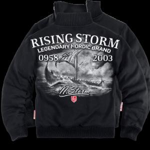 """""""Rising Storm"""" szőrmés pulóver"""