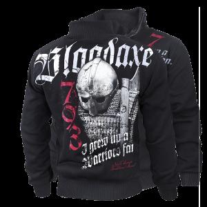 """""""Bloodaxe"""" szőrmés pulóver"""