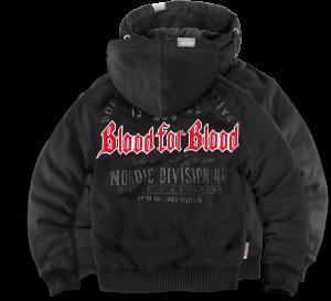 """""""Blood for Blood"""" szőrmés pulóver"""