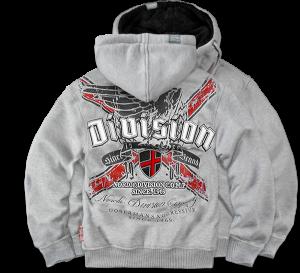 """""""Division"""" szőrmés pulóver"""