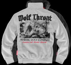 """Wolf Throat"" pulóver"