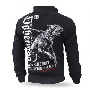 """""""Dobermans Support"""" szőrmés pulóver"""