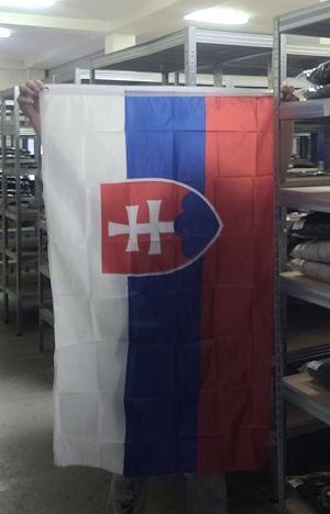 Szlovákia zászlaja
